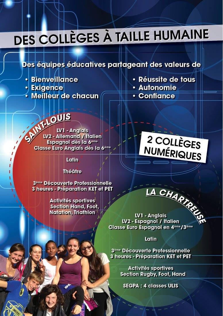 plaquette collège