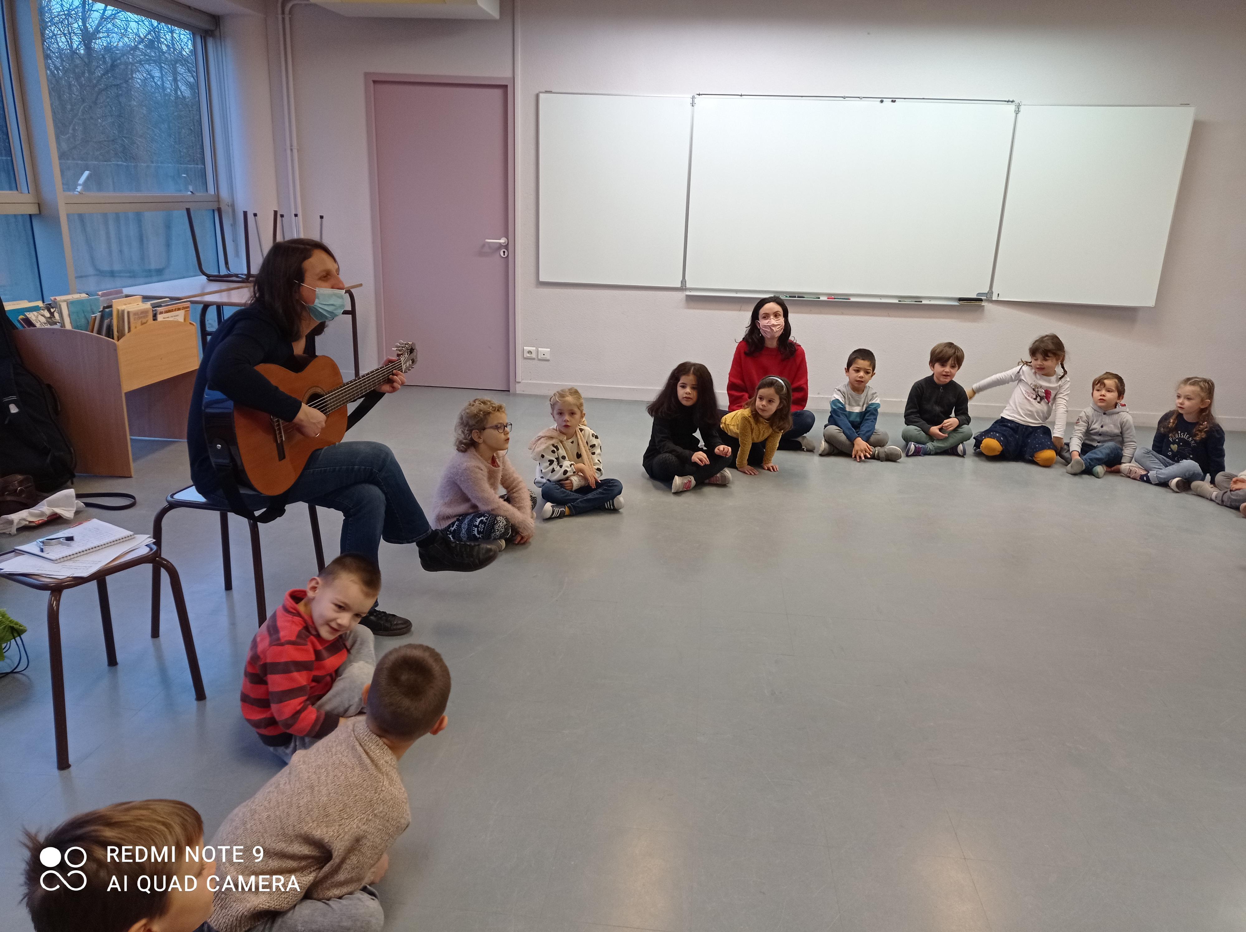 musique en maternelle