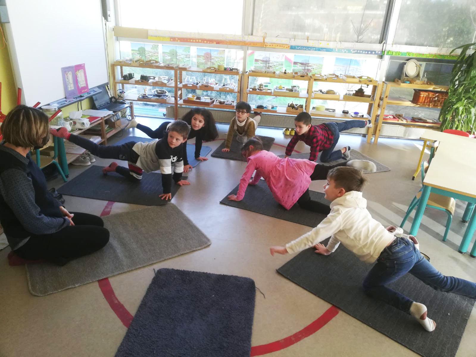 Yoga Maternelle