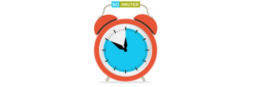 Les cours de 50 minutes