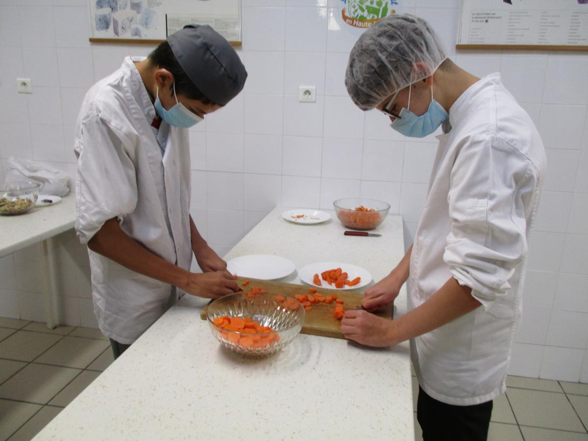 Ateliers culinaires SEGPA