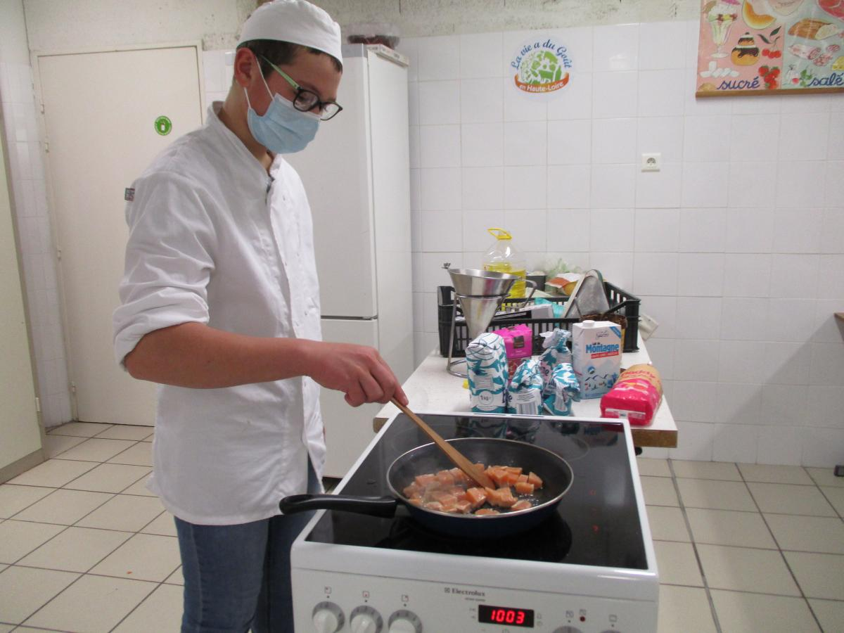 segpa cours culinaires