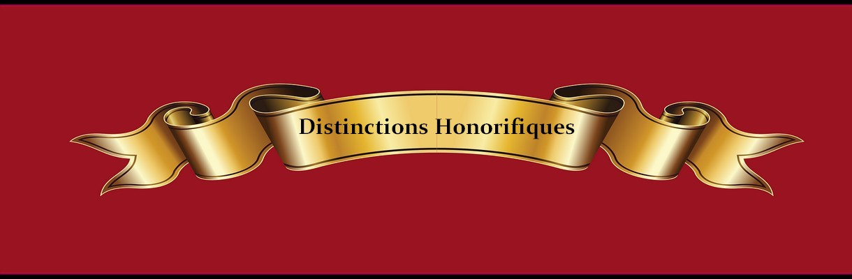 Distinctions Honorifiques