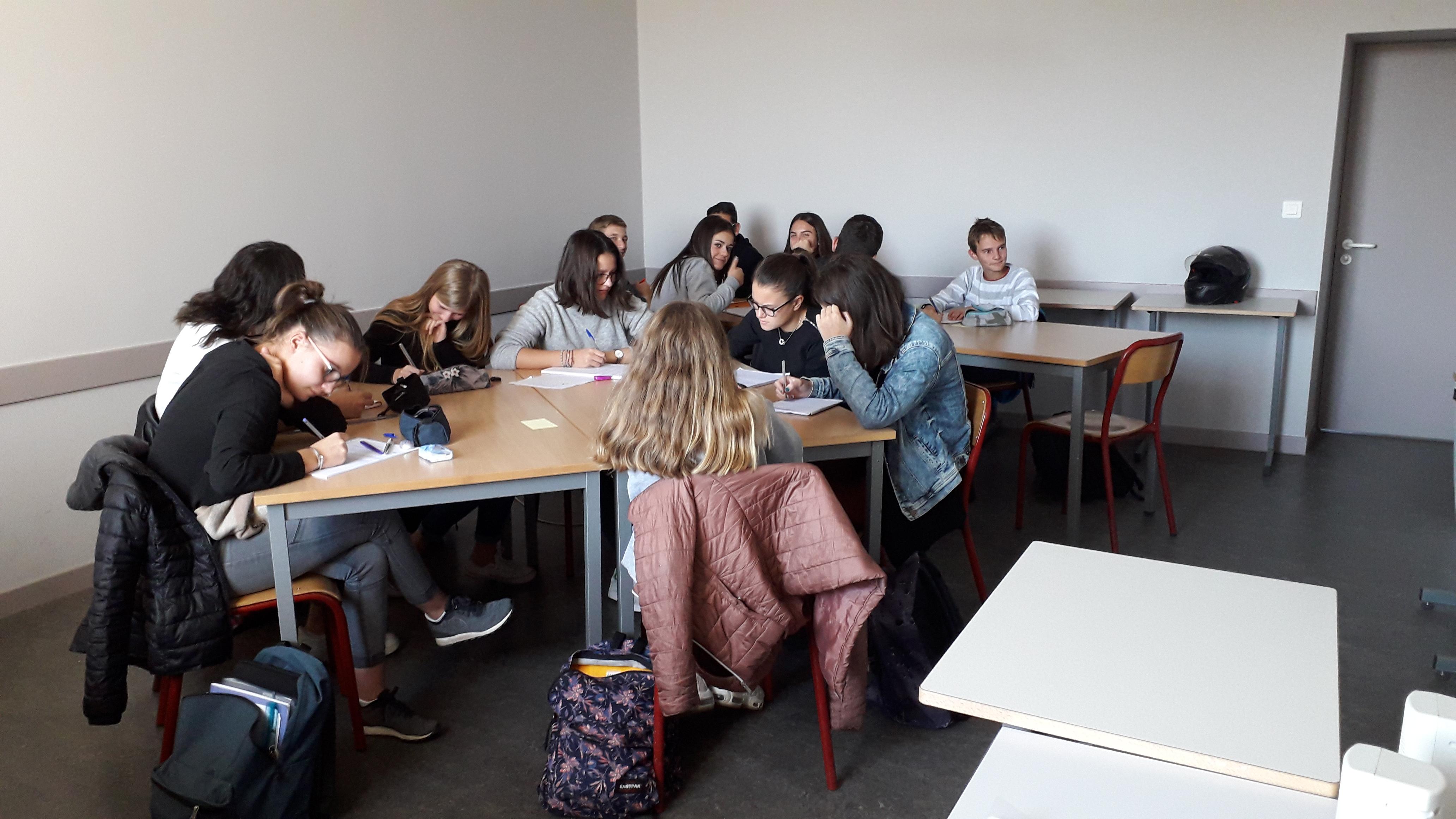 Vacances studieuses au lycée La Chartreuse