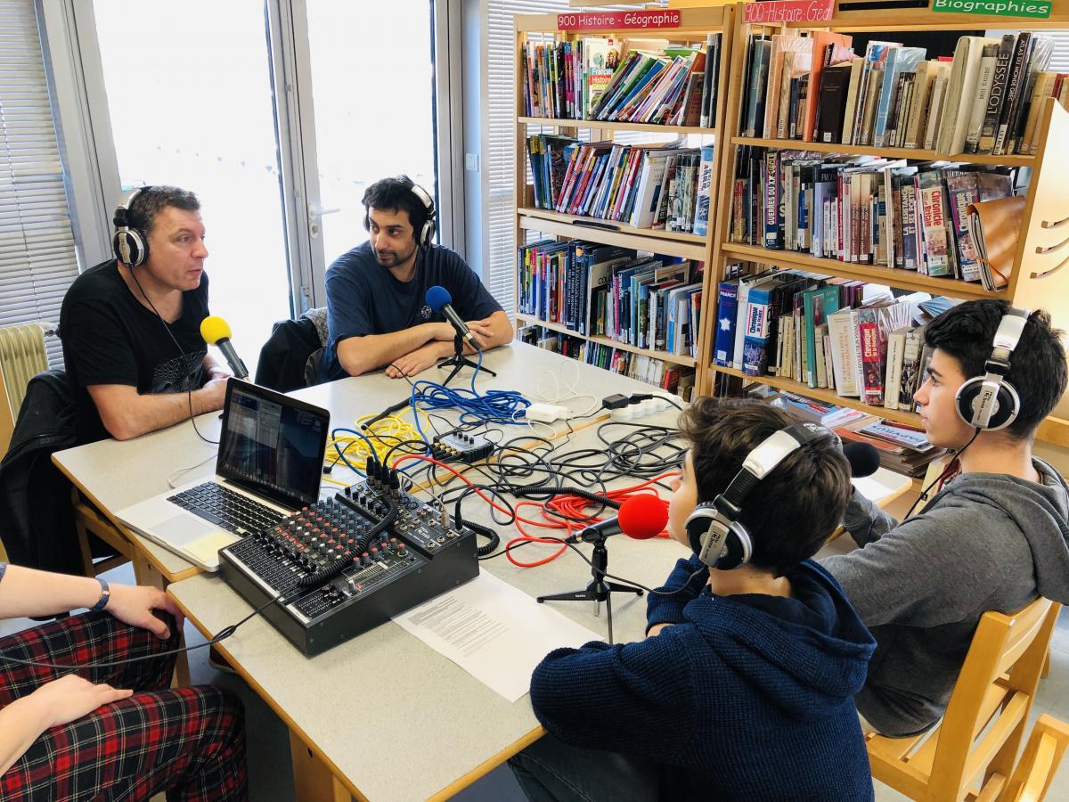 Les 1S participent au Prix littéraire des Lycéens d'Auvergne