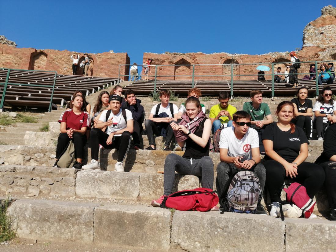 voyage lycée en sicile