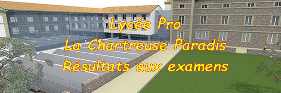 LP La Chartreuse Paradis résultats aux examens