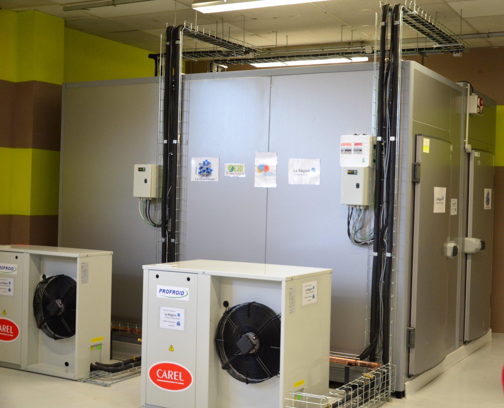 Inauguration de 2 chambres froides au CO2 2019